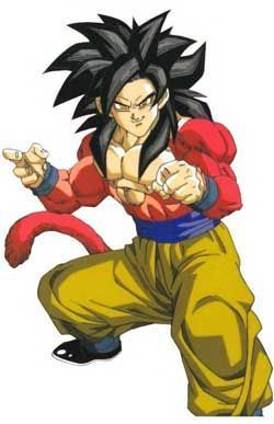 Sangoku Adulte Super Saiyan 4